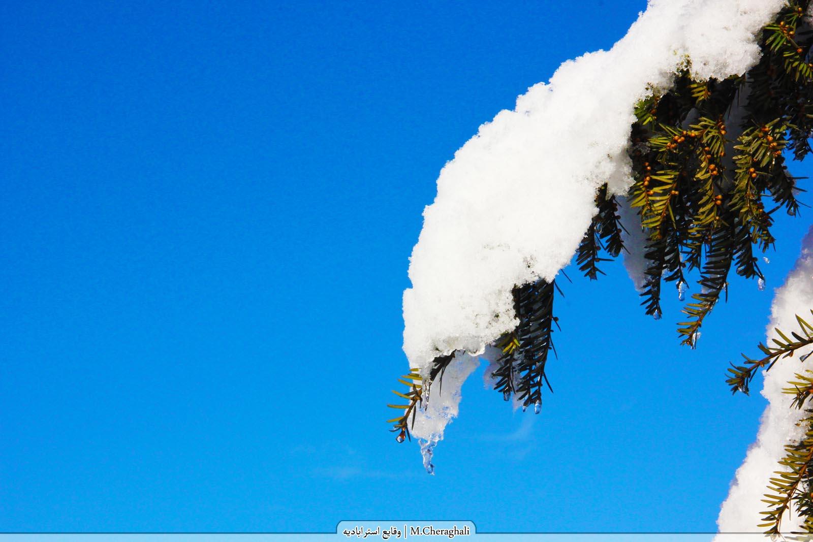 زمستان 1390 گرگان روستای زیارت